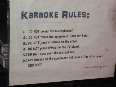 They are sensible about the dancing. But no cussing?