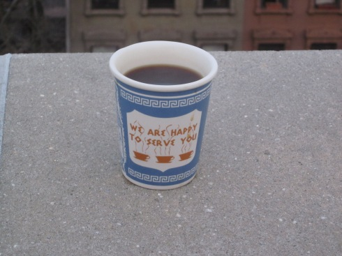 Rooftop iced coffee