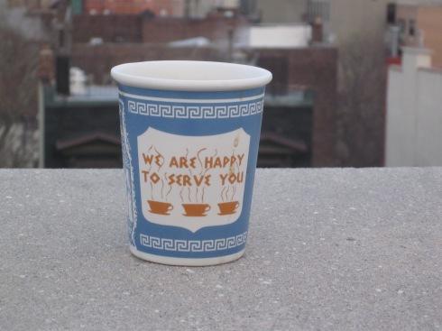 Rooftop ice coffee