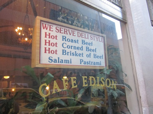 Cafe Edison