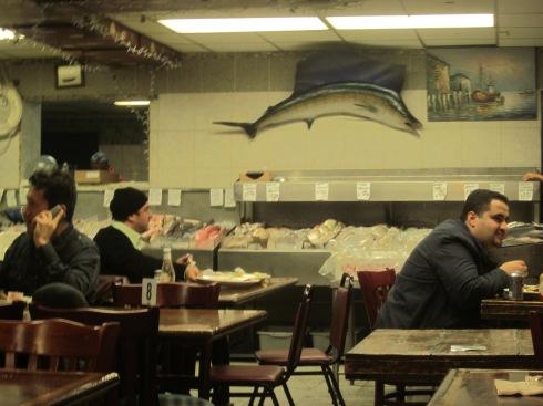 Seafood restaurant/fish market