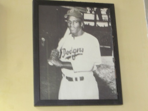 Jackie Robinson was still there.
