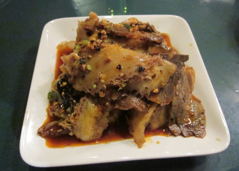 Ox tongue and tripe