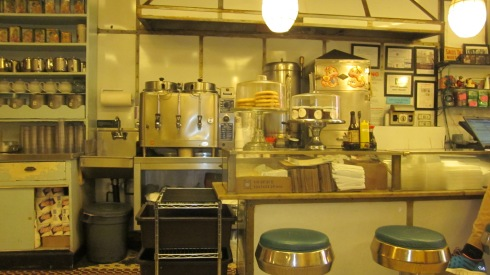 """Looks like any """"old fashion'"""" diner counter, doesn't it?"""