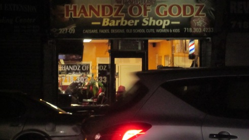 "Who wouldn't want their hair styled by the ""handz of godz?"""