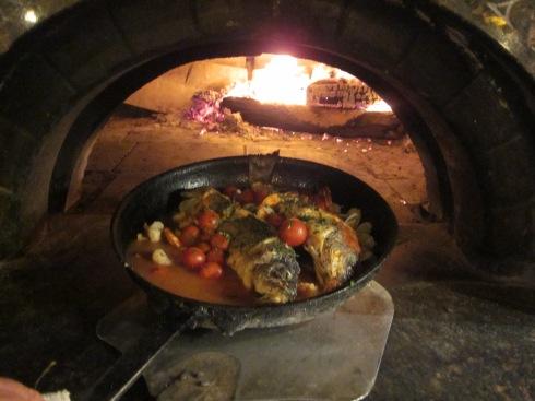 Branzino in the oven