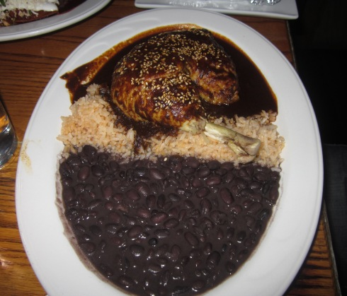 The mole at de Mole