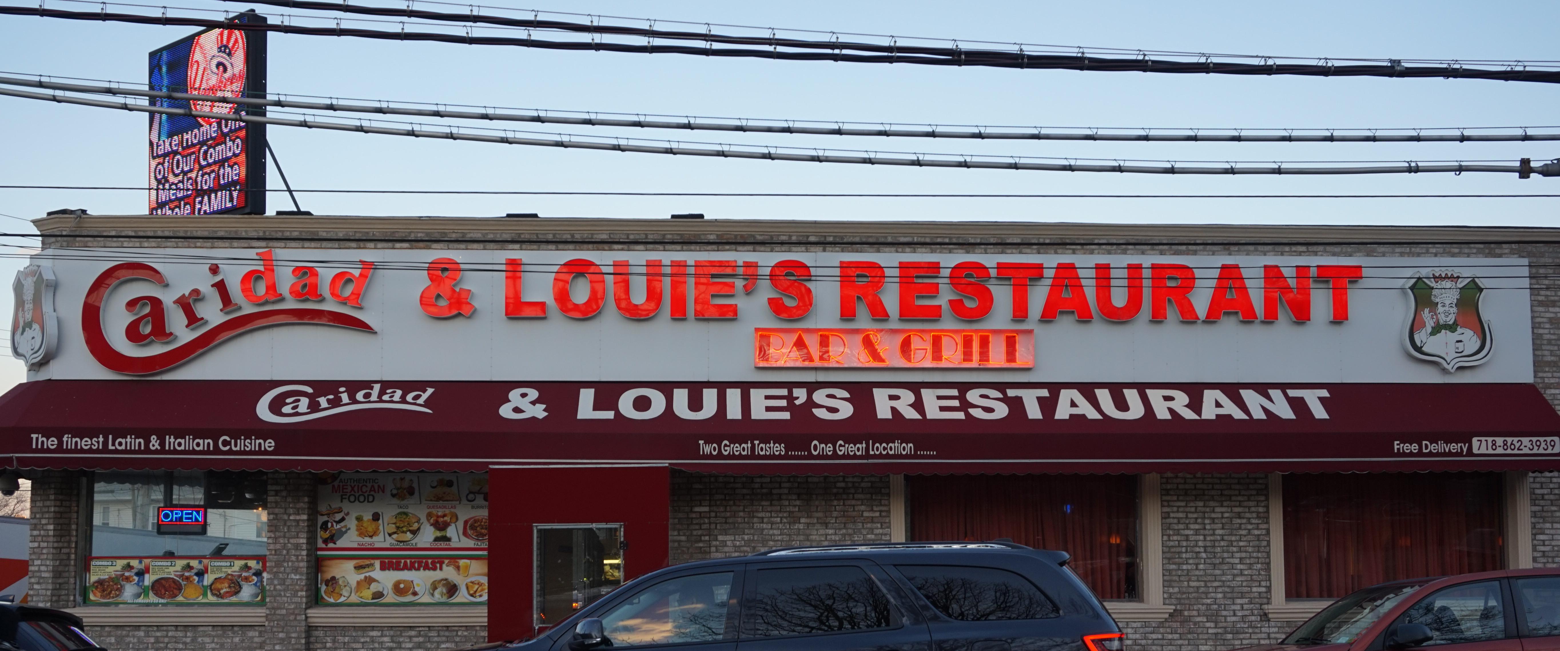 Louis Restaurant Bronx Ny