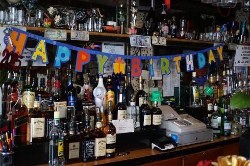 It's always someone's birthday at Dee's.