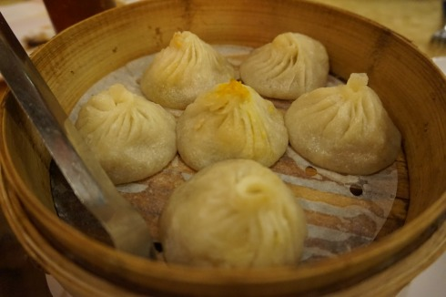 Crab meat and pork buns/soup dumplings